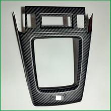 Para Subaru Forester 2013 2017 ABS Interior Car Deslocamento de Engrenagem Knob Tampa Do Painel Adesivo Guarnição Moldings Decorar Carro Styling