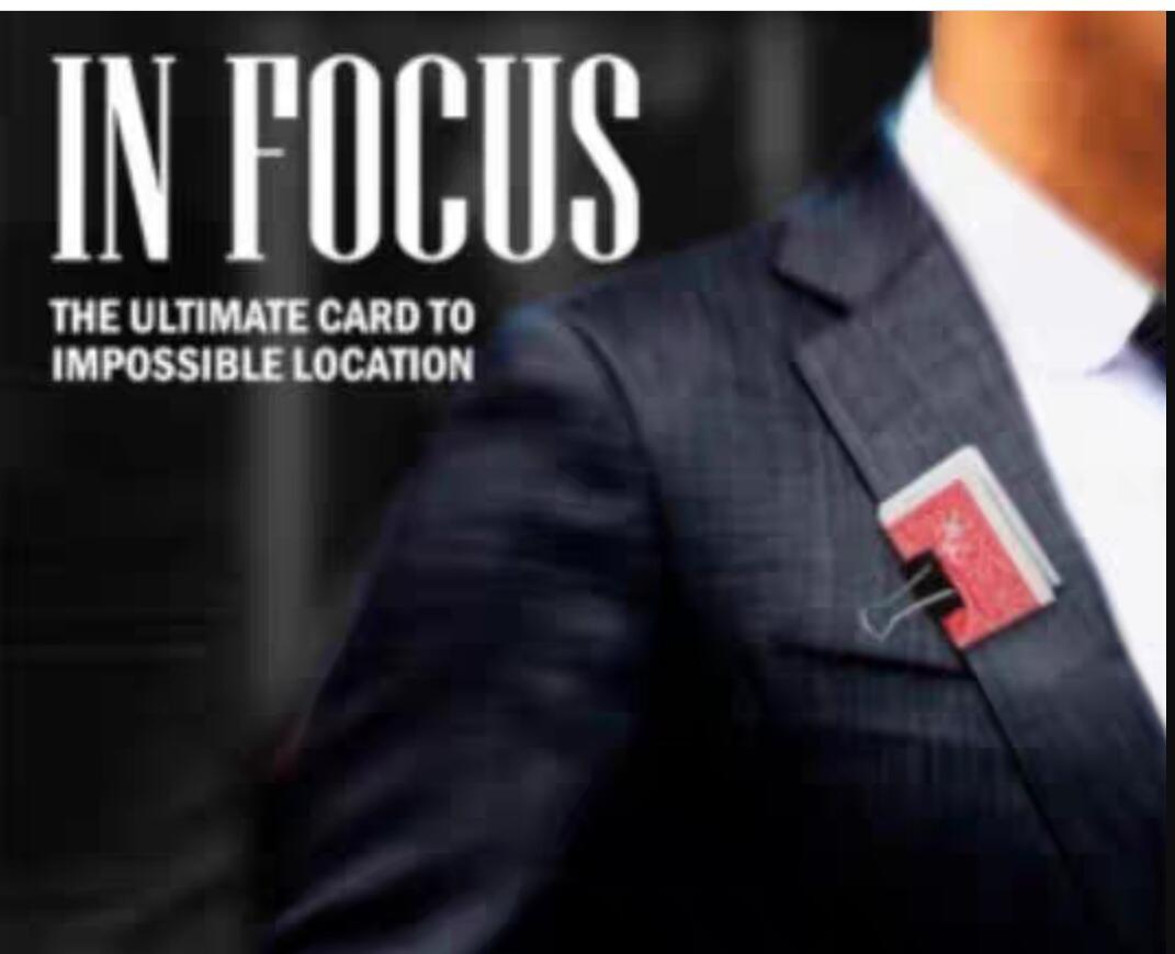 2020 In Focus By Joel Dickinson , Magic Instruction,Magic Trick