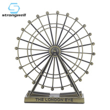 Strongwell Vintage Ferris Wheel Figurine Iron Crafts Home Decor Desktop Decoration Accessories Creative Couple Gift