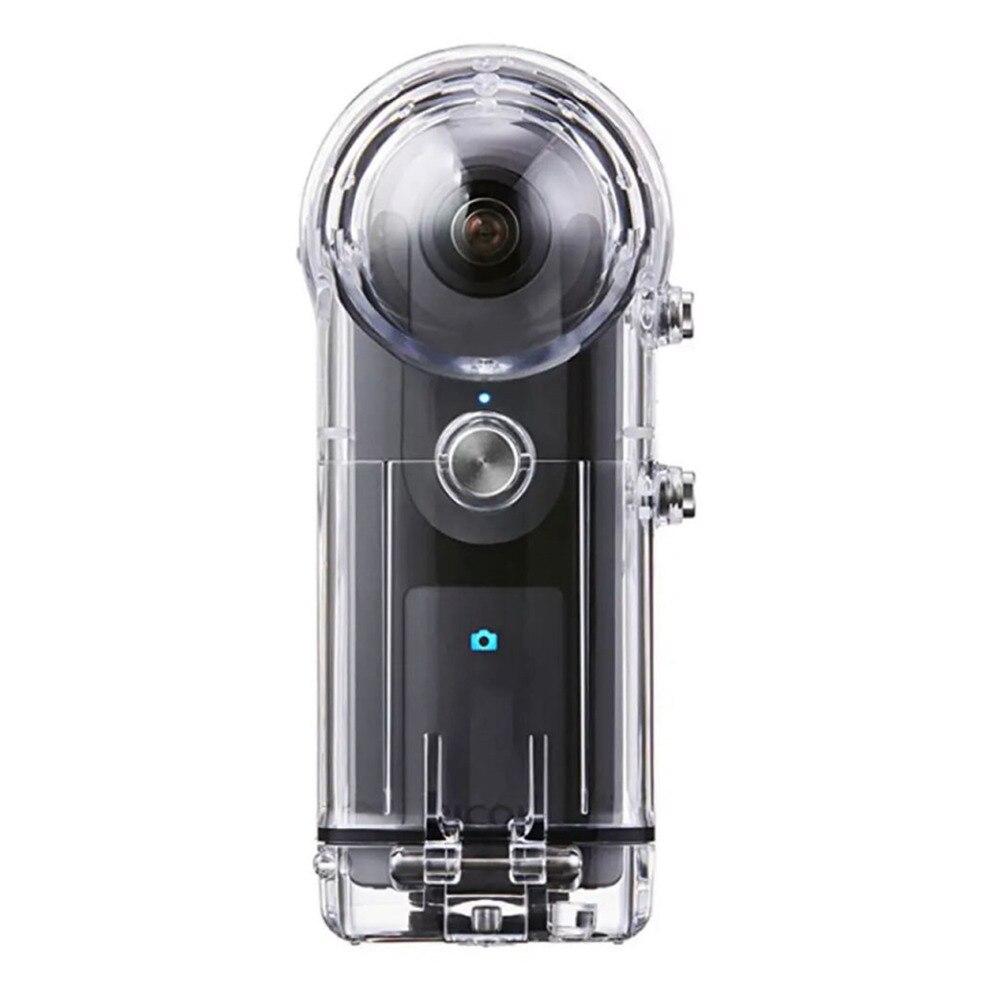 Boîtier de plongée pour Ricoh Theta Sc V 360 degrés caméra surf boîtier étanche boîtier pour Ricoh Theta S accessoires