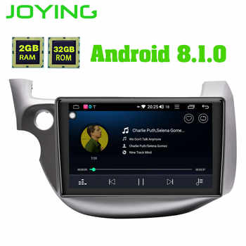 JOYING Android 8.1 Car Multimedia Player Tape Recorder GPS Navigator 8 core 32GB ROM 2GB RAM Radio for Honda Fit/Jazz 2008-2013 - DISCOUNT ITEM  18% OFF All Category