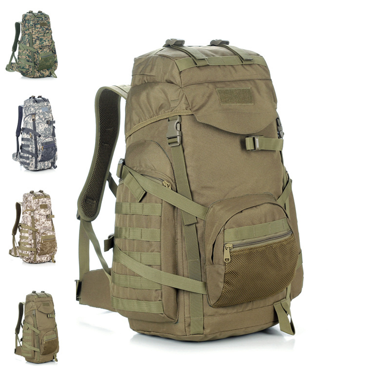 Outdoor Sports Army Fans Large Backpack Travel Mountain Climbing Camouflage Backpack Waterproof Mountain Climbing Bag Hiking Tra