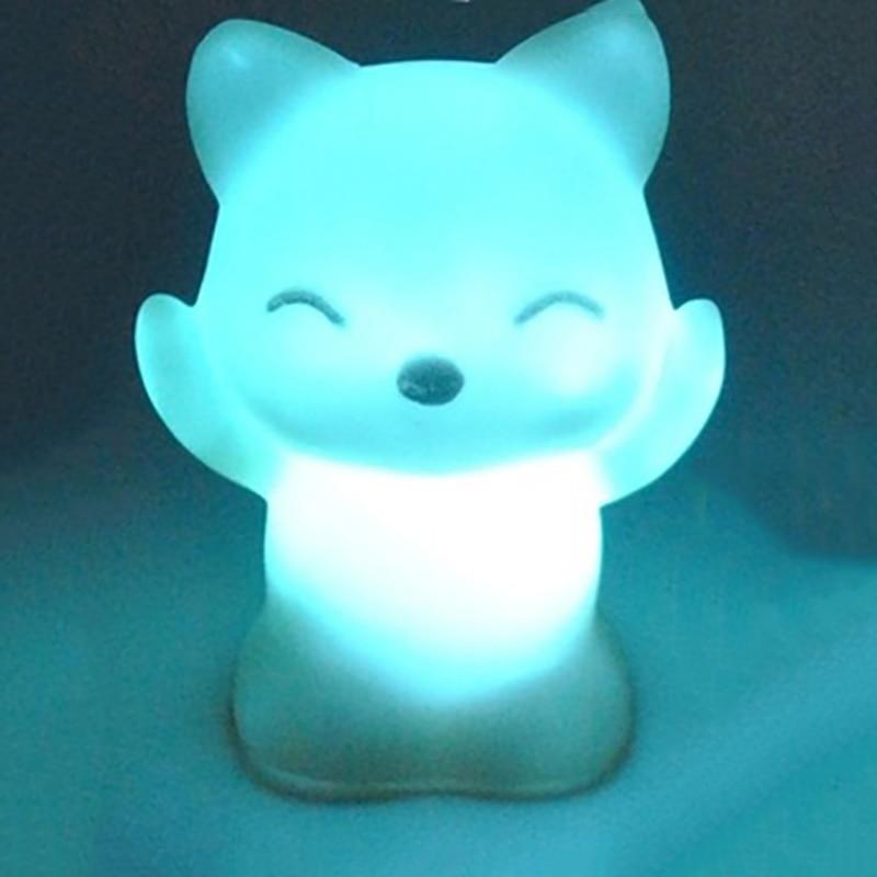 New Led Novelty Night Strange Animal Shape Children's  Table Lights Sleeping Light Decor Lamps