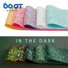 OOOT BAORJCT 197301,75 мм новые флуоресцентные цветные блестящие толстые ленты Blingbling, 2 ярда DIY ручной работы головные уборы Подарочная посылка
