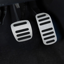 For  NISSAN NV200 AT AT car pedal gas foot rest stainless modified pad non slip performance aluminium fuel