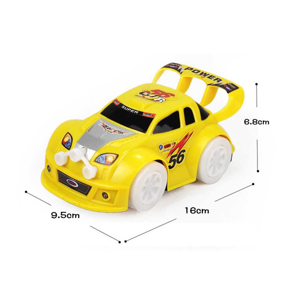 תינוק צעצועים לרכב דגם עם Led מהבהב אור Gimbal גלגל מוסיקה רכב צעצועים לילדים יום הולדת חג המולד מתנות סוללה מופעל רכב צעצוע