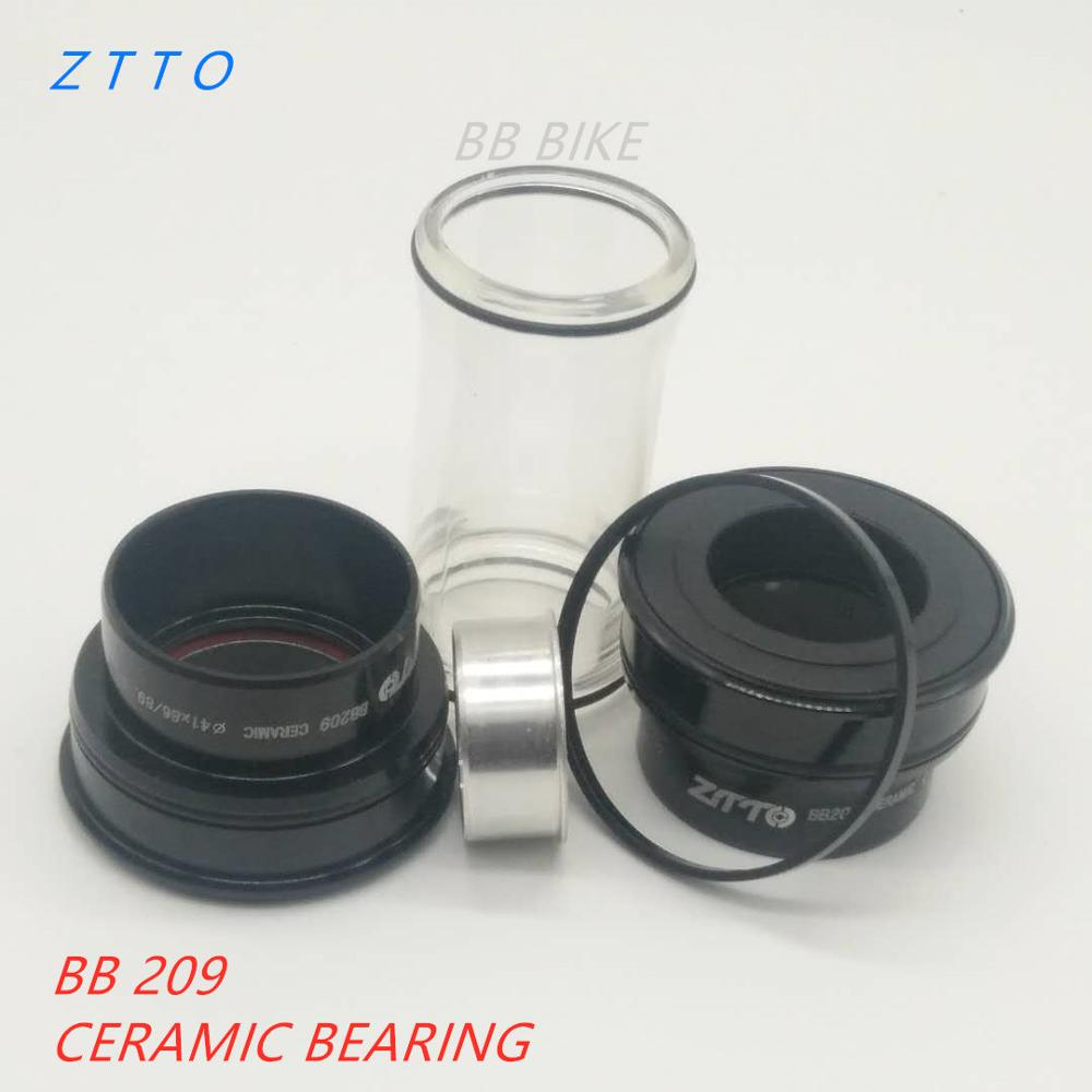 Ceramic Bearing BB209 BB92 BB90 BB86 Press Fit Bottom Brackets for Road Mountain Bike 24mm Crankset BB GXP 22mm Chainset Bottom Brackets     - title=