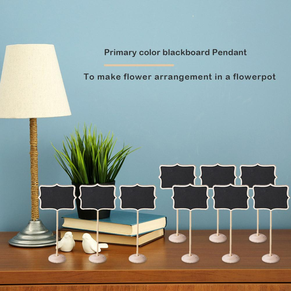 15pcs Chalkboard Blackboard Message Table Number Wedding Party Information Board Necessary Household Decoration Gadgets