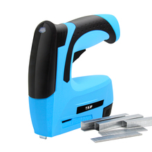 3.6V 2000mAh Lithium Battery Stapler Tacker Cordless Electric Staple Gun with 1000pcs Staples & Nails for Diyer Home Owners