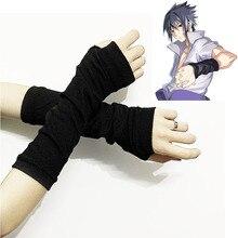 Naruto-Glove Oversleeve Hatake Kakashi Uchiha Sasuke Cosplay Anime Fashion Mitten Sun-Block