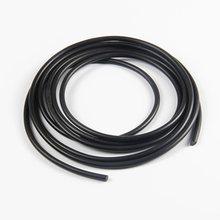 1 метр фторсодержащий каучук однотонный в полоску Диаметр 2,3,4,5,6,7,8,10, 2,5, 3,5 мм уплотнительное кольцо Бар не вспенивания черный