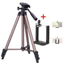 Andoer переносной Камера штатив-Трипод стойка с качающимся рычагом для цифровой зеркальной камеры Canon Nikon sony DSLR Камера видеокамера нагрузка 2,5 ...