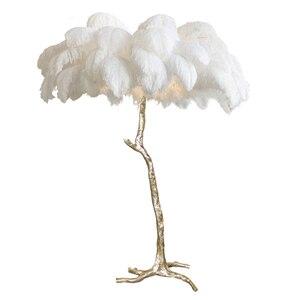 Image 5 - Лампа светильник, современный медный напольный светильник для гостиной, гостиницы, напольный светильник