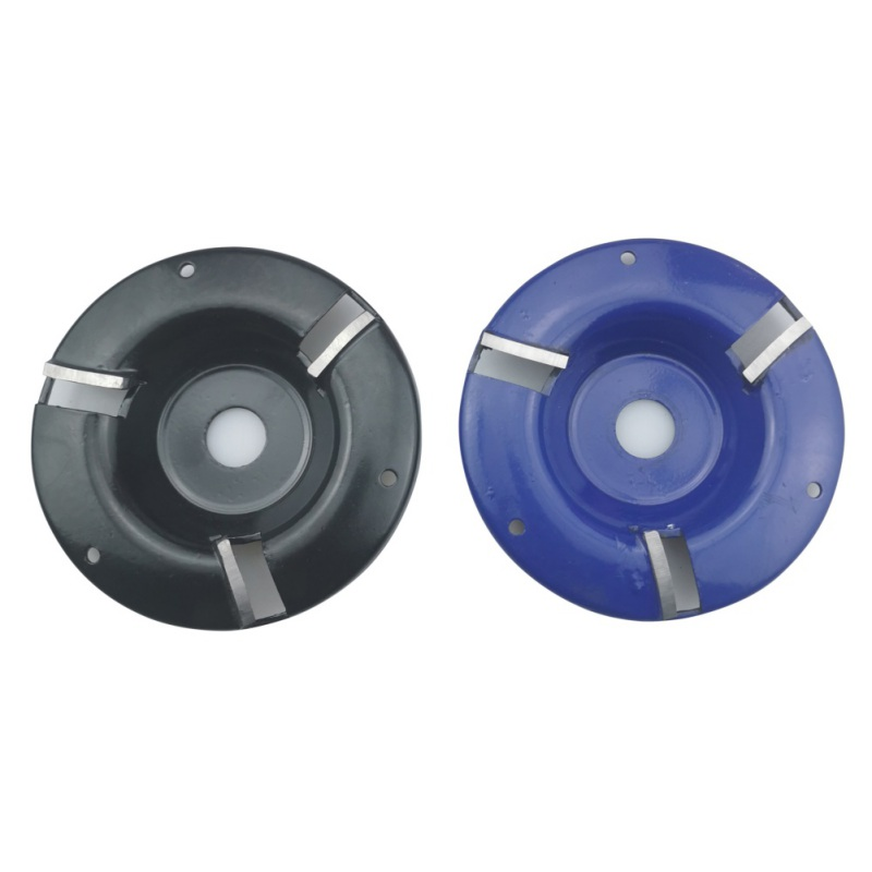 Tridentate Milling Cutter Power Wood Grinding Carving Blade Disc Woodworking Tool Alloy Angle Grinder Attachment