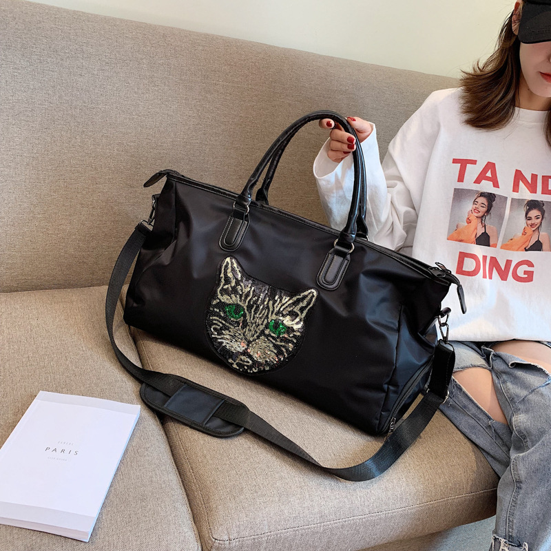 New Fashion Travel Bag, Sports Simple Handbag, Large Capacity Fitness Single Shoulder Bag, 2019
