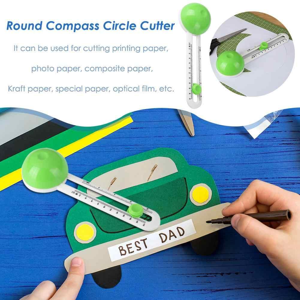 New Circle Cutter Rotonda Taglierina Lama di Taglio Modello Patchwork Bussola Cerchio Taglierina Di Carta Circolare Carte Scrapbooking Circle Cutter