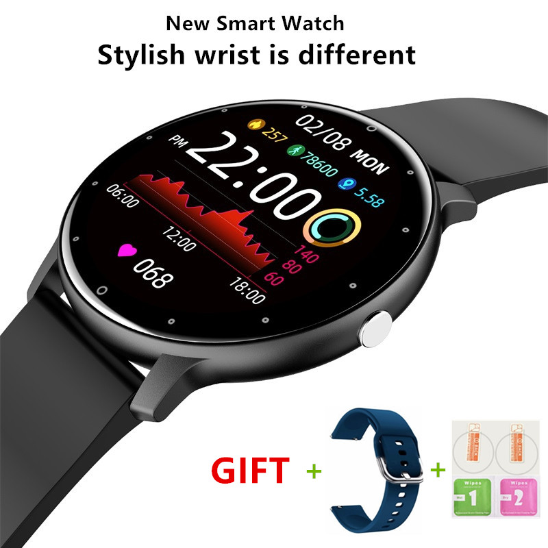 Ultra thin HD Screen Fitness Exercise Smart Watch