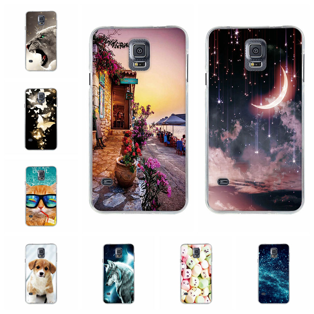 Phone Case For <font><b>Samsung</b></font> Galaxy S5 S6 S7 G930 TPU Case For <font><b>Samsung</b></font> S5 <font><b>SM</b></font>-G900 900F Pattern Case For <font><b>Samsung</b></font> S6 <font><b>G920</b></font> Silicone Shell image