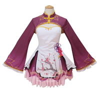 Re:Life in a different world from zero Cosplay Costume Rem Ram dress accessories Suit Uniform Lolita Chinese style Cheongsam