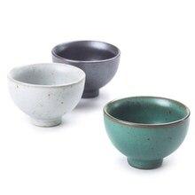 Винтажная печь чайная чашка Ретро японская фарфоровая посуда для напитков чайные чашки маленькая чайная миска чайник мастер одна чашка