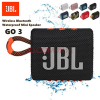 JBL-Altavoz Bluetooth GO 3 GO3, Original, inalámbrico, Subwoofer, para exteriores, a prueba de agua, con sonido de graves, Mini altavoz en varios colores