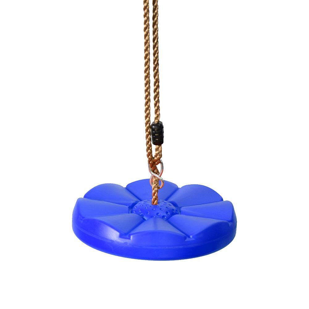 Balanço para o Miúdo Adulto ao ar Crianças Brinquedo Swing Pedal Forma Disco Árvore Balanço Corda Pendurado Engrossado Livre Quintal Playground
