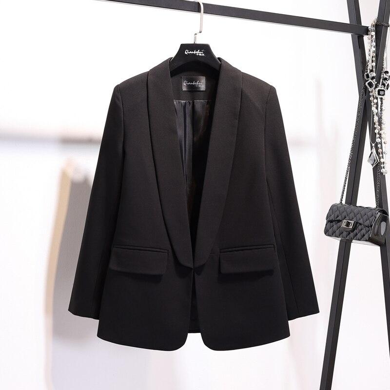 2020 Black Blazer Women Spring Autumn Coat Female Suit Office Jacket Women Blazers And Jackets Marynarka Damska KJ1723