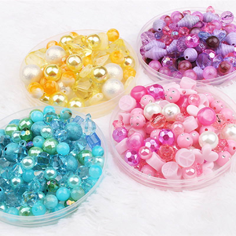 Wholesale 20g New  Acrylic Beads Mixing Beads Style For DIY Handmade Bracelet Jewelry Making Accessories