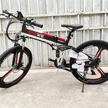 Electric bike 26inch Aluminum Folding electric Bicycle 400W Powerful bike 48V12.