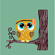 Owl on The Tree Metal Cutting Dies Craft Stencils DIY Scrapbooking Die Cuts Embossing for Photo Album Cards