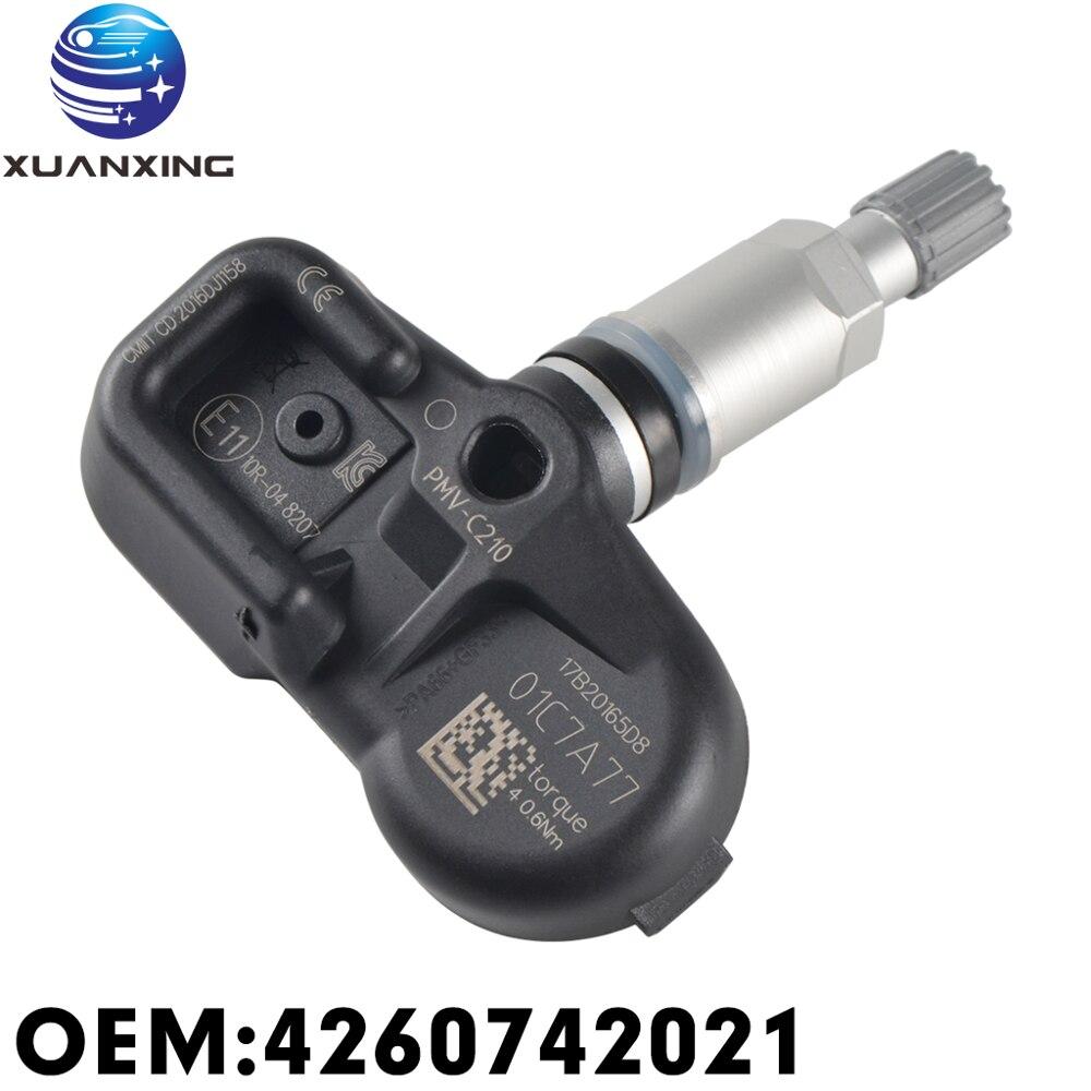 4260742021 Tire Pressure Sensor Monitoring System 433MHz PMV-C210 For TOYOTA AVANZA INNOVA  PriusV Rush 42607-42021