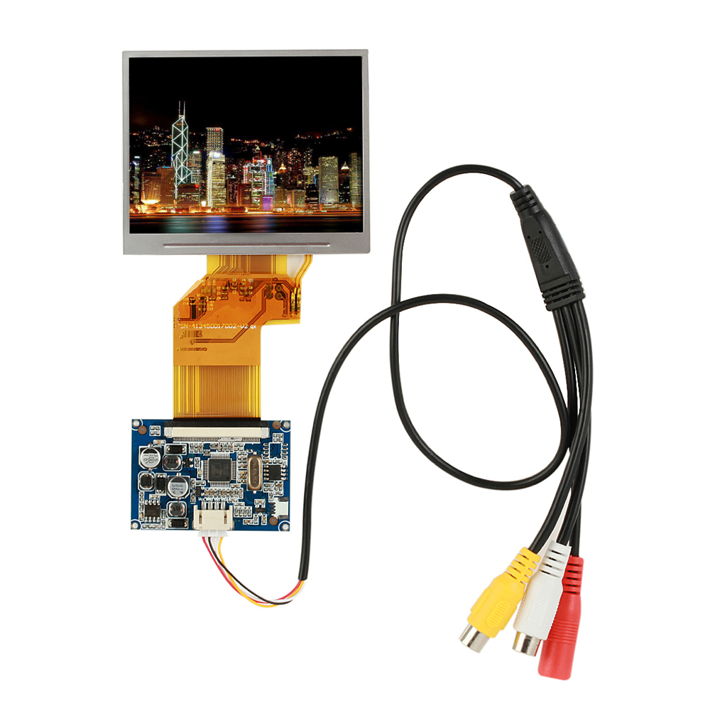 3.5 Inch TFT LCD Display RGB LCD Display Module Kit, Monitor Screen For Car, Digital Photo Frame Supports Multi-function