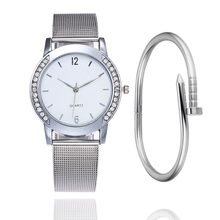 LuxuryBrand Silver Ladies Wristwatch Watch Luxury Rectangle Casual Watches Women Dress Casual Wristwatch Lady Quartz-Watch Clock(China)