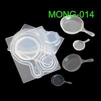 1 Set Mini Pan Pot Resin Silicone Mold Epoxy Resin Jewelry Tools Art Craft Tools