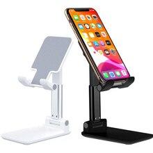 Regolabile In Metallo Desktop Tablet Supporto Da Tavolo Cellulare Pieghevole Estendere Il Supporto Da Tavolo Supporto Del Supporto Del Telefono Mobile Del Basamento Per il iPhone iPad