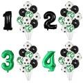 11 stücke Fußball Fußball Latex Ballons 30