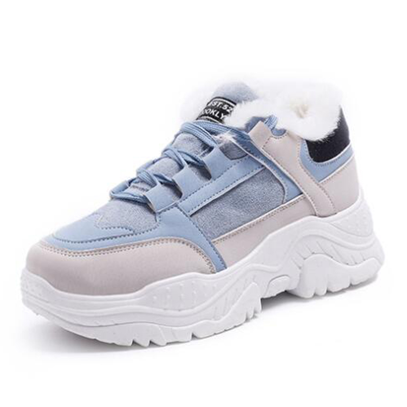 Mhysa 2020 zima kobiety Sneakers moda oddychające buty