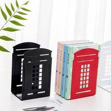 Shelf-Holder Book-Stand Support Telephone-Booth Rack Office-Magazine-Organizer Desktop