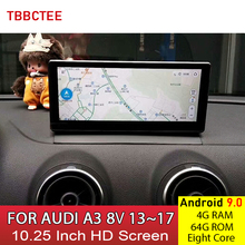 Android 9.0 8 Core 4GB 64GB For Audi A3 8V 2013~2017 MMI 2G 3G RMC HD Screen Stereo Android Car Multimedia Player Auto Radio