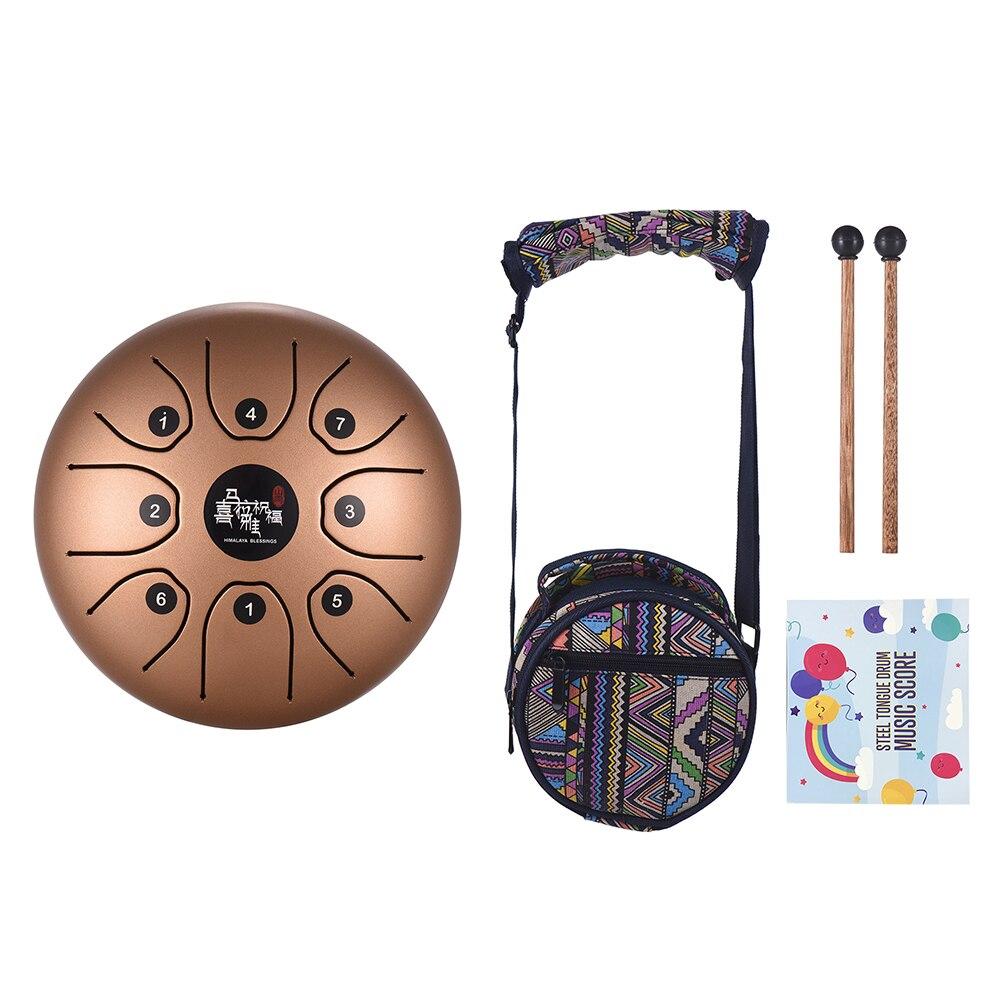 Zungentrommel 5,5 Zoll Handpan Handtrommel für Meditation Musik Bildung