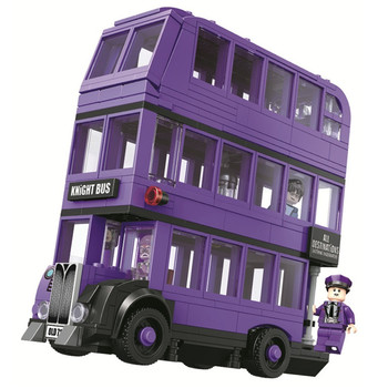 BL 11342 Magic Movie Potter Bus Building Blocks Kits Bricks Classic Movie Model Kids Toys For Children Gift image