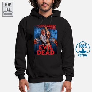 Evil Dead Hoodies For Men Hoodie For Men Fashion Men'S Oversized Sweatshirt Cotton Streetwear Black Hoodie Vintage Hoodies A0037