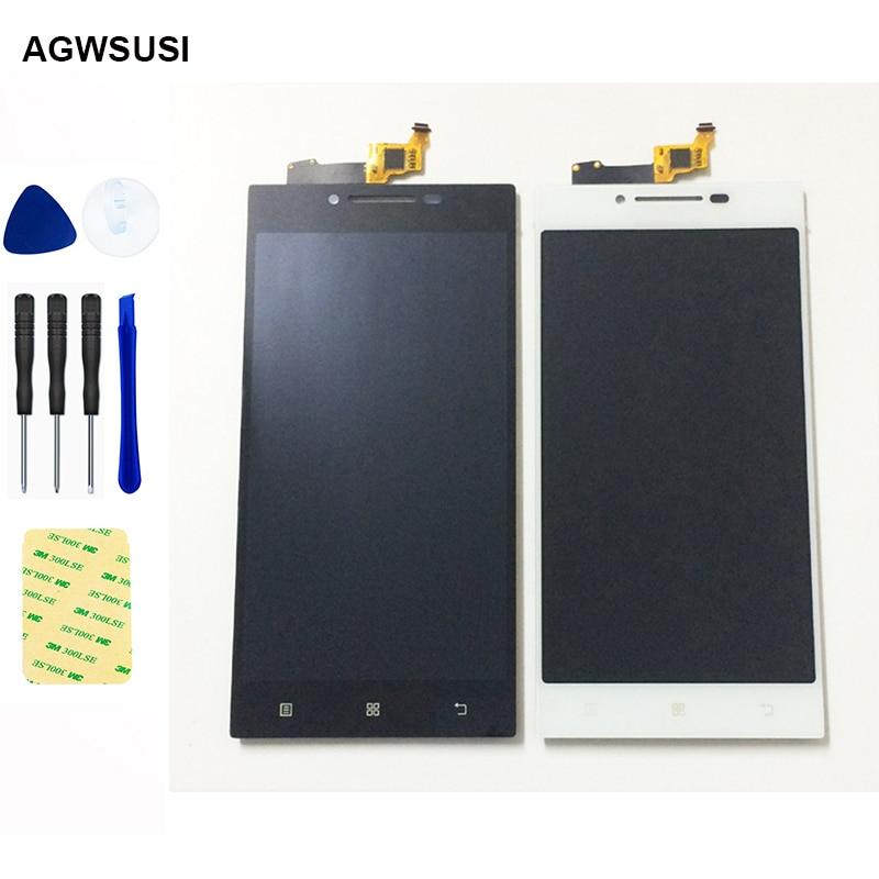 For Lenovo P70 P70-t P70t P70-A P70A LCD Display Screen Monitor Module + Touch Screen Digitizer Sensor Panel Glass Assembly