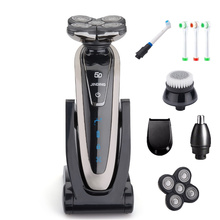 Electric Shaver for Men Rechargeable Shaving Machine for Hai