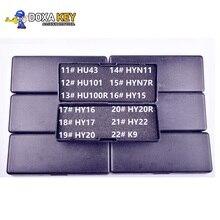 LiShi 2 1 파인더 2in1 HU43 HU101 HU100r HYN11 HYN7R HY15 HY16 HY17 HY20 HY20R HY22 K9 자동 디코더 선택 자물쇠 도구