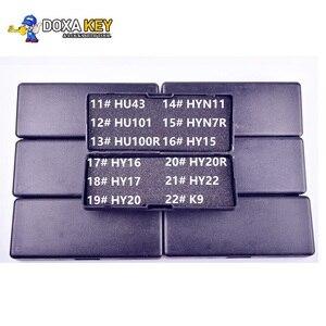 Image 1 - Эхолот LiShi 2 в 1, слесарный инструмент для автомобильного декодера, HU43, HU101, HU100r, HYN11, HYN7R, HY15, HY16, HY17, HY20, HY20R, HY22, K9