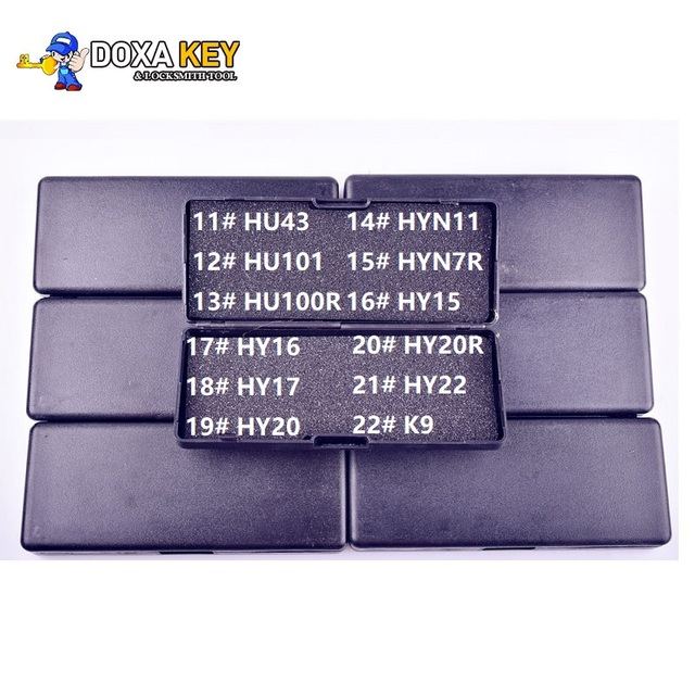 Эхолот LiShi 2 в 1, слесарный инструмент для автомобильного декодера, HU43, HU101, HU100r, HYN11, HYN7R, HY15, HY16, HY17, HY20, HY20R, HY22, K9