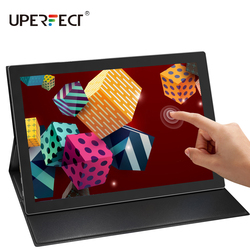 UPERFECT Touch Screen Portable Monitor 1920×1080 FHD IPS 12.3-inch Display MonitorFor Raspberry Pi switch laptop Phone