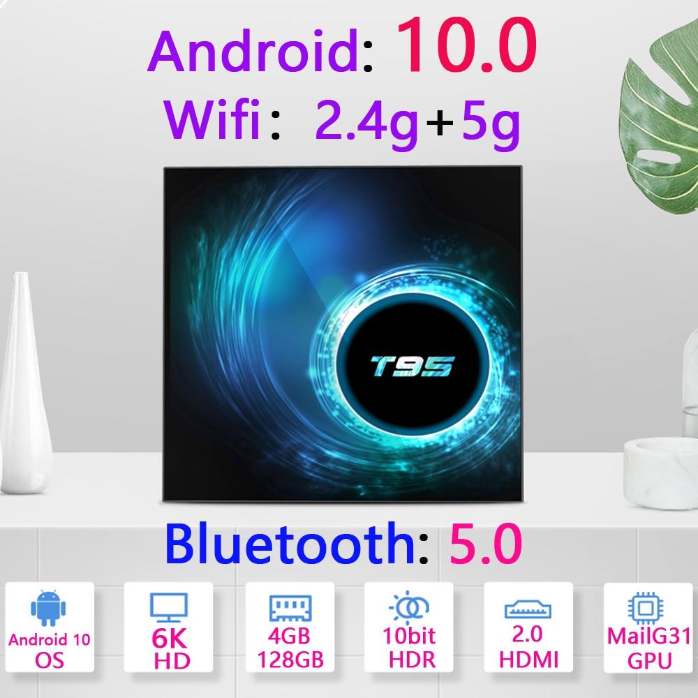 Media-Player Set-Top-Box H616 6K Mini Android-10 2GB 4GB 32g 64GB 128GB New 4K