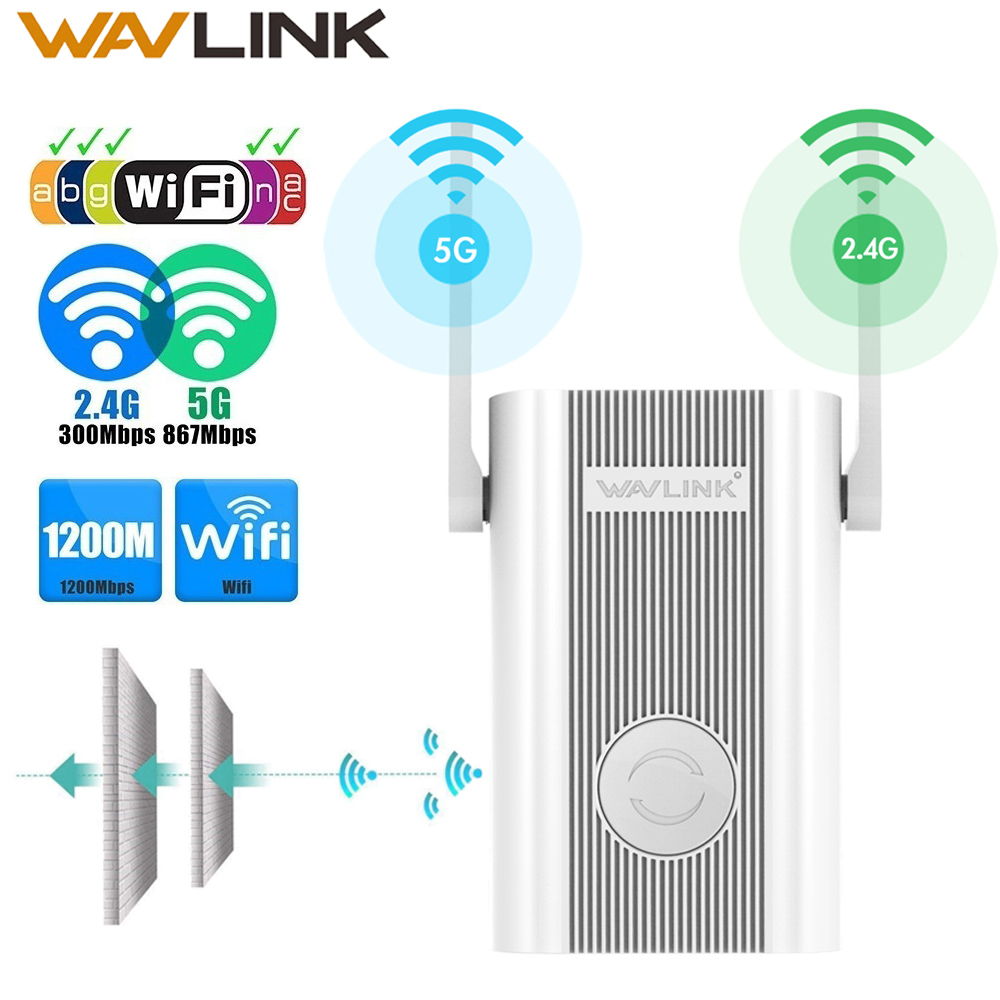 Wavlink Wireless Wifi Repeater Wifi-Router/Access-Point-Wps Antenna Signal-Amplifier